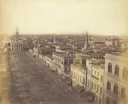 Old Court House Street, Calcutta, looking [north]
